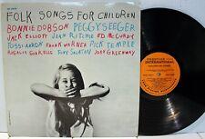 Rare Folk LP - V/A - Bonnie Dobson, Jack Elliott - Folk Songs For Children