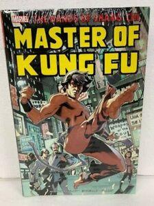 MARVEL SHANG CHI MASTER OF KUNG FU OMNIBUS VOL 1 Hardcover HC - NEW MSRP $125