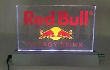 Red Bull Energy Drink Acrylic Table LED Panel Light