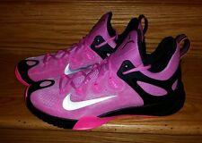 Nike Zoom Hyperrev 2015 Basketball KAY YOW BREAST CANCER Man US 12.5 Pink Black