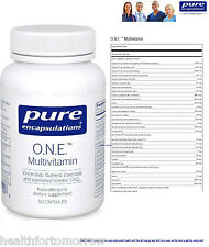 Pure Encapsulations O.N.E. Multivitamin 60 vcaps (One) - Exp Date: 06/2019
