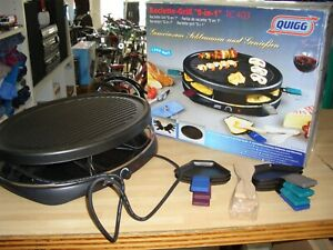 Quigg Raclette-Grill 2 in 1 RC403
