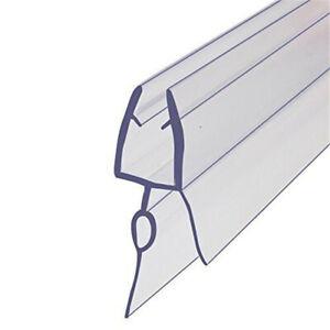 1PC 70cm 6mm Shower Door Water Seal Strip Frameless Glass Door Bottom Wipe ^