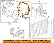 GM OEM Air Conditioner-Discharge Hose 95376420