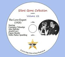 "DVD ""The Love Expert"" (1920) Constance Talmadge, John Halliday, Classic Comedy"