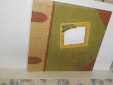 Wish You Were Here Travel Themed Scrap Book / Photo Album