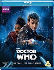 DR WHO 2007 Series 3+2006 CHRISTMAS Doctor David TENNANT + Martha Season BLU-RAY