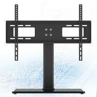 """Stable TV Stand Base With Universal Mount And Height Adjustable For 32-55"""" TVs"""