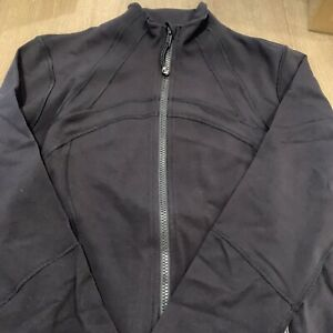 New With Tag Authentic lululemon define jacket in Black size 12. In Wrapper!