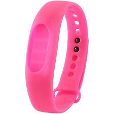 Armband mit Fitnessuhren: Wechsel-Armband zu Fitness-Tracker FT-100.3D, neonrot