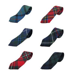 Ingles Buchan Boys Scottish Wool Tartan Ties 2.5 x 36 inches