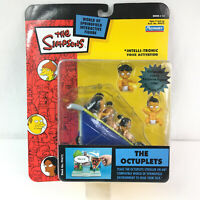 Simpsons The Octuplets Series 15 with voice activation Playmates 2003 NEW