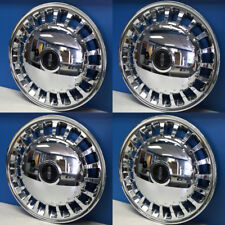 "1998-1999 Lincoln Town Car # 7023 16"" Chrome Hubcaps Wheel Covers F8VZ1130AC SET"
