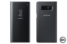 Samsung Clear View Standing Cover für Galaxy Note 8, schwarz (EF-ZN950CBEGWW)