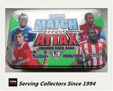 2010-11 Topps Match Attax EMPTY Metal Tin x 20tin--380 Card Storage+ Post Cards