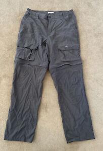 Columbia Omni Shield Performance Fishing Gear Pants/Shorts W34 L32