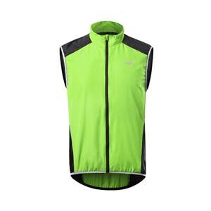 Cycling Vest Windproof Waterproof Reflective Thin Lightweight Biker Jacket Tops