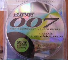 MONOFILO SARFIX 007 LENZA MULINELLO 0,105 mm 500 mt 1,71 kg TESTATO PESCA-FS14
