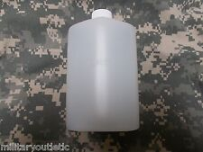 US MILITARY PLASTIC 1 PINT PILOT FLASK / CANTEEN, NATURAL