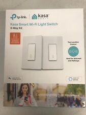Brand New Kasa Smart Wi-Fi Light Switch, 3-Way Kit TP-Link - Control Lighting