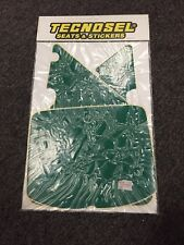 Tecnosel Nos Backgrounds Rm 125 250 1999-2000 Suzuki Number Plates Boards Green