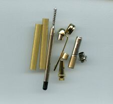 Premium Designer pen kit - gold - style is like European pen kit - woodturning