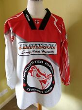 Manchester Phoenix Play Off Champions 2013 jersey   size 2XL  adult