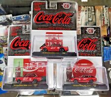 M2 Machines Coca Cola Series Datsun 510 Nissan Fairlady Skyline GT-R 3-car NEW