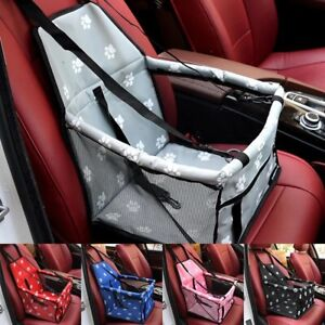 Folding Pet Dog Car Seat Safe Handbag Cat Puppy Travel Carrier Bed Bag Basket