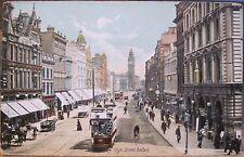 Irish Postcard BELFAST NI - HIGH STREET - Northern Ireland Roto Colour Lawrence