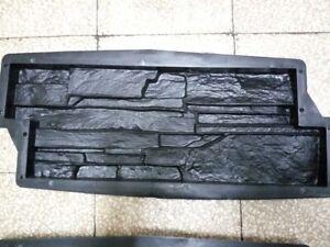 Stampo matrice Forma Rivestimento parete finta pietra gesso cemento mattoncini