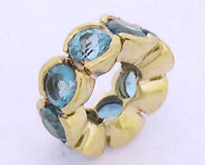 Bd084 GENUINE 9ct Solid Yellow Gold Natural Peridot Rondelle Bead
