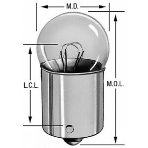 License Light Bulb Wagner Lighting 1155
