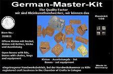 Resin recubrirse set 350021, 1:35, diorama accesorios GMK World War II