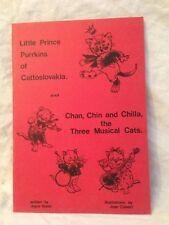 Joyce Dixon SIGNED, Little Prince Purrkins of Cattoslovakia - Joan Calvert 1977