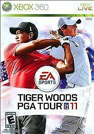 Tiger Woods PGA Tour 11 (Microsoft Xbox 360, 2010)