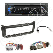 Kenwood KDC-120UB Radio +Chrysler Wrangler PT Cruiser Blende schwarz+ISO Adapter