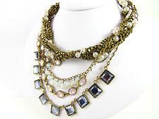 Ovale-Halsketten & Anhänger mit echten Edelsteinen gemischten Themen