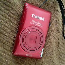 ~ CANON PowerShot ~ ELPH 300 HS / IXUS 220 HS ~ 12.1MP ~ RED