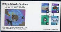 Brit. Antarktis Gebiete MiNr. 181-84 Ersttagsbriefe/ FDC Arktis (Ark5013
