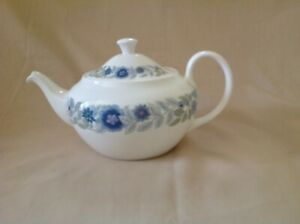 WEDGWOOD CLEMENTINE TEA POT EXCELLENT CONDITION FIRST QUALITY