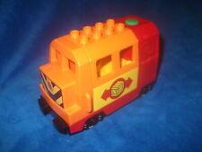 LEGO DUPLO VILLE EISENBAHN DAMPFLOK elektrische Lok Zug TANKGERÄUSCHE a. 10508