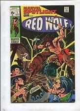 MARVEL SPOTLIGHT #1 (7.0) RED WOLF!