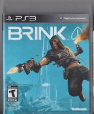 Playstation PS3 Video Game - BRINK   - Used In Good Shape