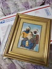 "Three Wise Men 12"" X 10"" 3D Tres Reyes Magos Nacimiento Figurines Frame Wood."