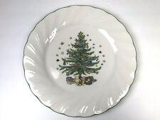 "Nikko Happy Holidays 10 3/4"" Dinner Plate Christmas Tree"