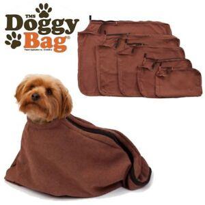 TMS doggy bag. Micro Fleece Towel To Keep Dog Warm & Dry & Cars Clean XS-XL