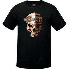 Sycamore Harley-Davidson Split Skull Men's Dealer T-Shirt R003463
