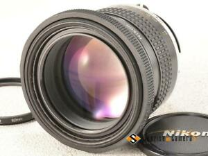 Nikon Ai-s NIKKOR 105mm F1.8 [EXCELLENT] from Japan (16286)