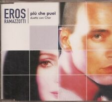 EROS RAMAZZOTTI feat CHER -  PIU CHE PUOI- CD PROMO